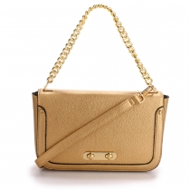 Dámská zlatá kabelka Missi 560