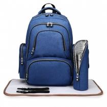SET: Mateřský modrý batoh na kočárek Dario 6706