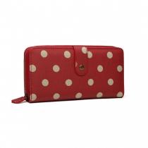 Dámská červená peněženka Gisela 6801D