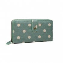 Dámská zelená peněženka Gisela 6801D