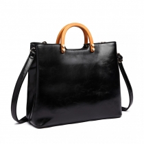Dámská černá kabelka Anife 1808