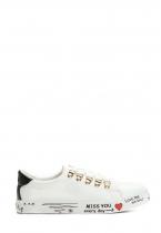 Dámské bílé tenisky Nicole 8362