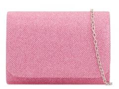 Dámské růžové psaníčko Locca 2224