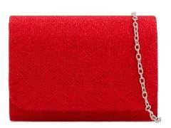 Dámské červené psaníčko Locca 2224