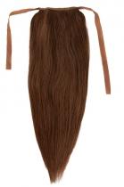 CLIP IN vlasy - culík 40 cm středně hnědá