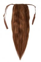 CLIP IN vlasy - culík 50 cm oříšková