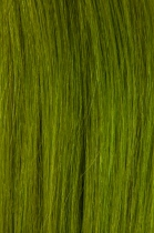 Vlasy s keratinem - 50 cm zelená, 10 pramenů