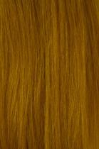 Vlasy s keratinem - 50 cm žlutá, 10 pramenů