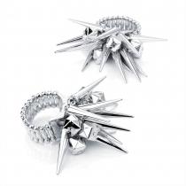 Prsten ve stříbrné barvě Spike 25974
