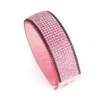 Dámský náramek v růžové barvě Rosalia 31740
