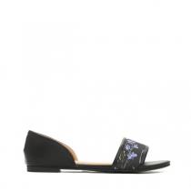Dámské černé sandály Brava 7248