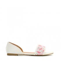 Dámské bílobéžové sandály Brava 7248