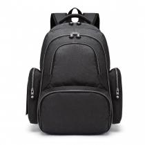 Mateřský černý batoh na kočárek Tessy 6706