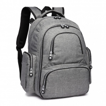 Mateřský šedý batoh na kočárek Tessy 6706