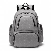 Mateřský šedý batoh na kočárek Tessy 6706D