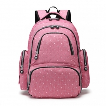 Mateřský růžový batoh na kočárek Tessy 6706D