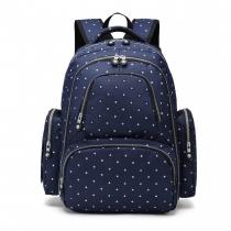 Mateřský námořnicky modrý batoh na kočárek Tessy 6706D