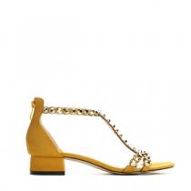 Dámské žluté sandály Dance 9175