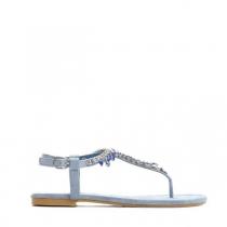 Dámské modré sandály Alica 7264