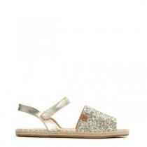 Dámské zlaté sandály Tilda 8432