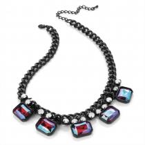 Černý náhrdelník Midnight 28365