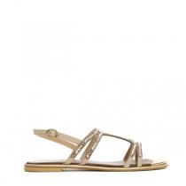 Dámské béžové sandály Halina 4158