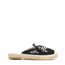 Dámské černé pantofle Palace 7240
