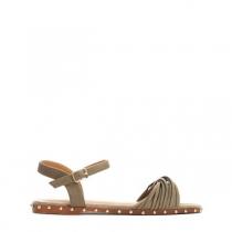 Dámské zelené sandály Brida 9199