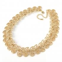 Náhrdelník ve zlaté barvě Curly 28276