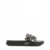 Dámské černé pantofle Debbi 051