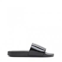 Dámské černé pantofle Style 10761