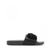 Dámské černé pantofle Fiona 10761a