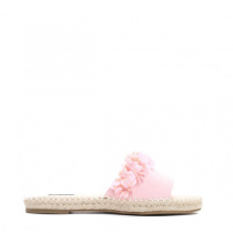 Dámské růžové pantofle Wikkia 7254