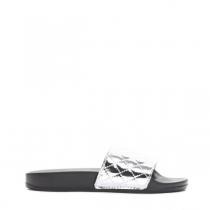 Dámské stříbrné pantofle Keala 10761C