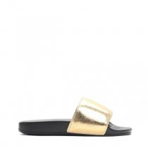 Dámské zlaté pantofle Davis 10761H