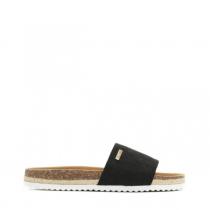 Dámské černé pantofle Cassa 8422