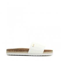 Dámské bílé pantofle Cassa 8422