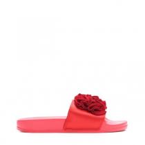 Dámské červené pantofle Fiona 10731A