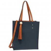 Dámská modrohnědá kabelka Sabinne 594