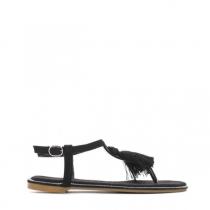 Dámské černé sandály Yann 7263