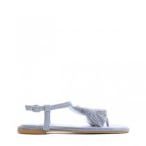 Dámské modré sandály Yann 7263