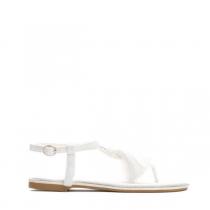 Dámské bílé sandály Yann 7263