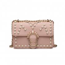 Dámská růžová kabelka Strong 1836