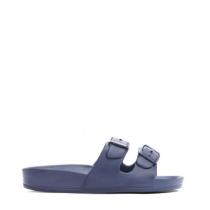 Dámské modré pantofle Oliveira 823