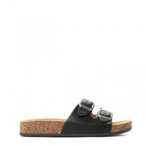 Dámské černé pantofle Suave 6230