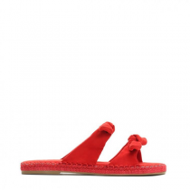 Dámské červené pantofle Kirstin 9194