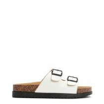 Dámské bílé pantofle Gato 6238