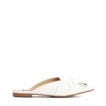 Dámské bílé pantofle Aster 014