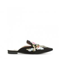 Dámské černé pantofle Velosa 016