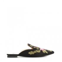 Dámské černé pantofle Bonny 017